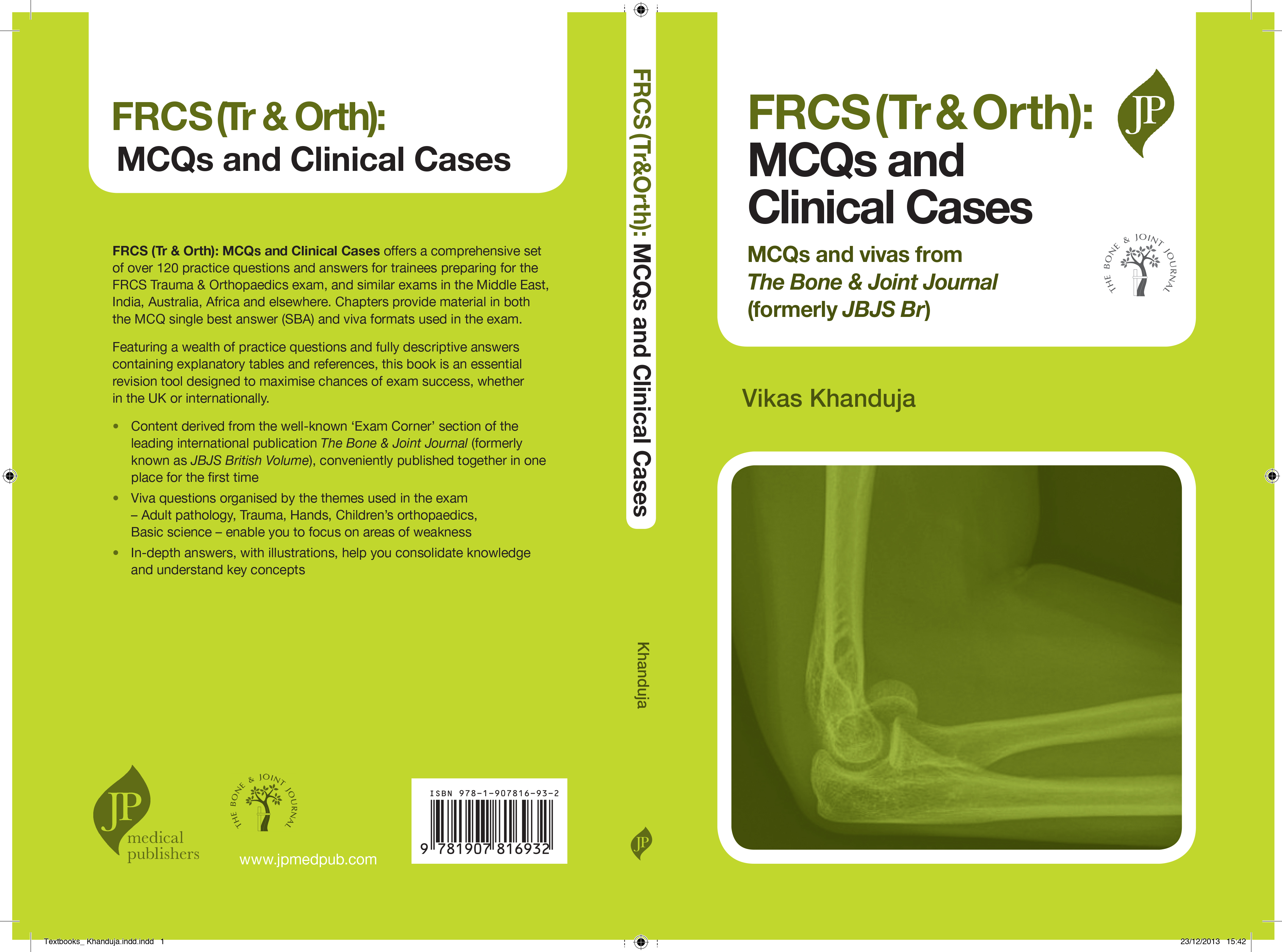 FRCS (Tr&Orth) MCQs and Clinical Cases - Orthopaedic Product