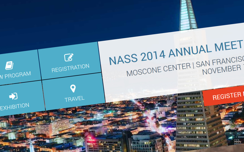 12th – 15th North American Spine Society 29th Annual Meeting