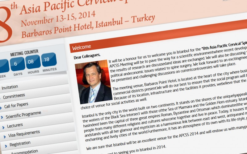 13th – 15th 8th Asia Pacific Cervical Spine Meeting