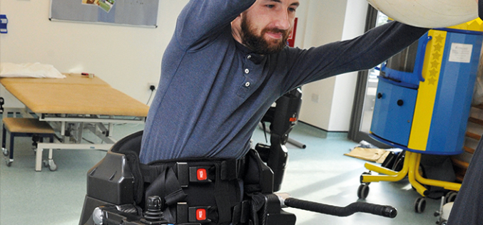 REX Bionics: Robot-assisted physiotherapy benefits wheelchair-users