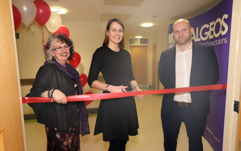 Olympic medallist opens Algeos Innovation Suite