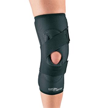 Brace yourself: anterior knee pain