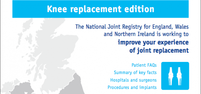 Latest joint replacement patient guides – out now!