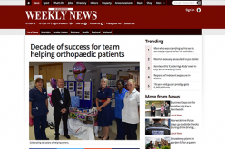 Decade of success for team helping orthopaedic patients
