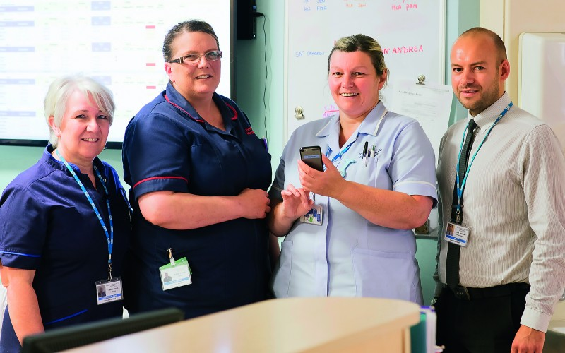 Hi-tech electronic monitoring puts patients first
