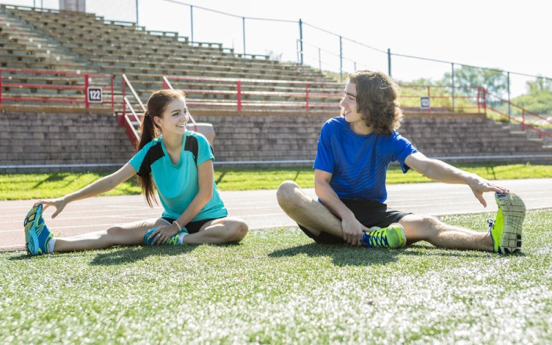Young athletes more likely to have knee, hip injuries