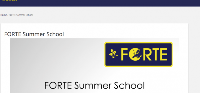 FORTE Summer School is a new event for orthopaedic trainees