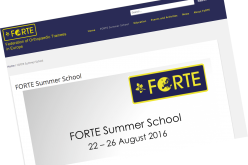 22–26 August 2016, FORTE Summer School, Portugal
