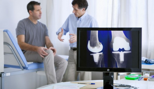Procedures to repair knee cartilage show promise for patients over 40