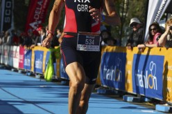 Man wins triathlon three months after hip replacement surgery
