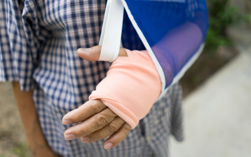 Wrist fractures linked to poor balance in elderly patients