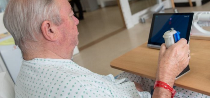 """""""Virtual physiotherapist"""" helps paralysed patients exercise using computer games"""