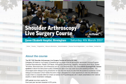 4 March 2017 – Shoulder Arthroscopy Live Course 2017; Birmingham
