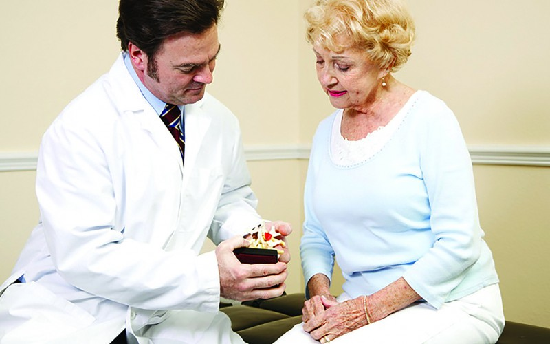 Multisensory education enhances patient understanding of orthopaedic conditions