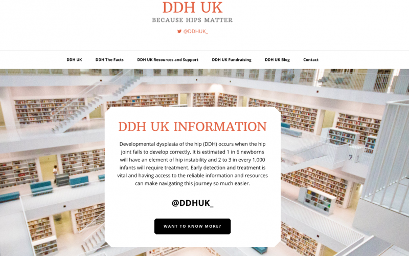 DDH UK – the new hip charity