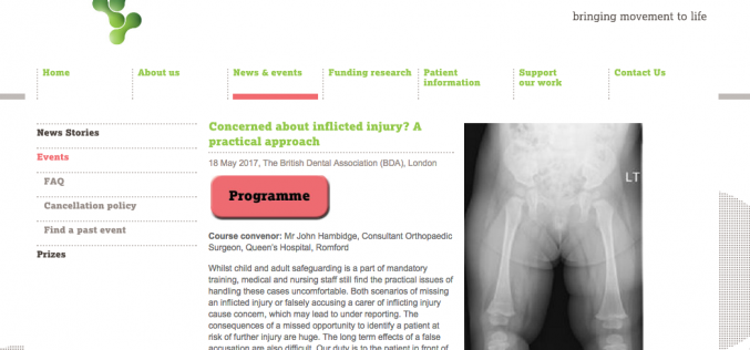 18 May 2017 – Concerned about inflicted injury? A practical approach; London