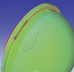 Figure 12 – Retrieval liner specimen after five years.
