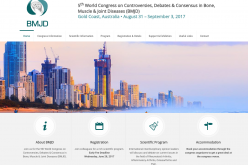 31 August – 3 September 2017 – 5th World Congress on Controversies, Debates and Consensus in Bone, Muscle and Joint Diseases; Gold Coast, Australia