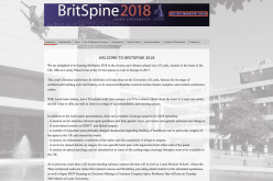 21-23 March 2018, BritSpine 2018; Leeds, UK