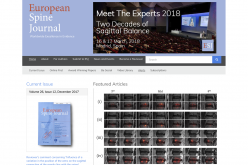 16–17 March 2018; European Spine Journal: Meet the Expert 2018, Spain