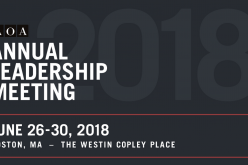26-30 June 2018, American Orthopaedic Association Annual Leadership Meeting 2018; Boston, USA