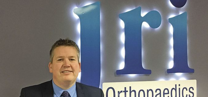 Indian trade mission showcase for JRI Orthopaedics