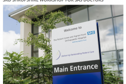 18 September 2018, 3rd Shropshire Workshop for SAS Doctors; Oswestry