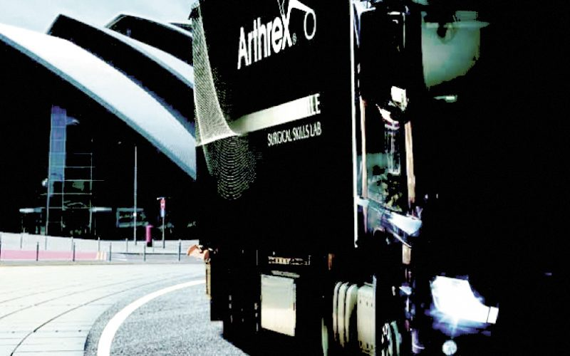 Arthrex medical education rolling into BESS