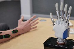 Keele scientists showcase cutting-edge prosthetic hand research