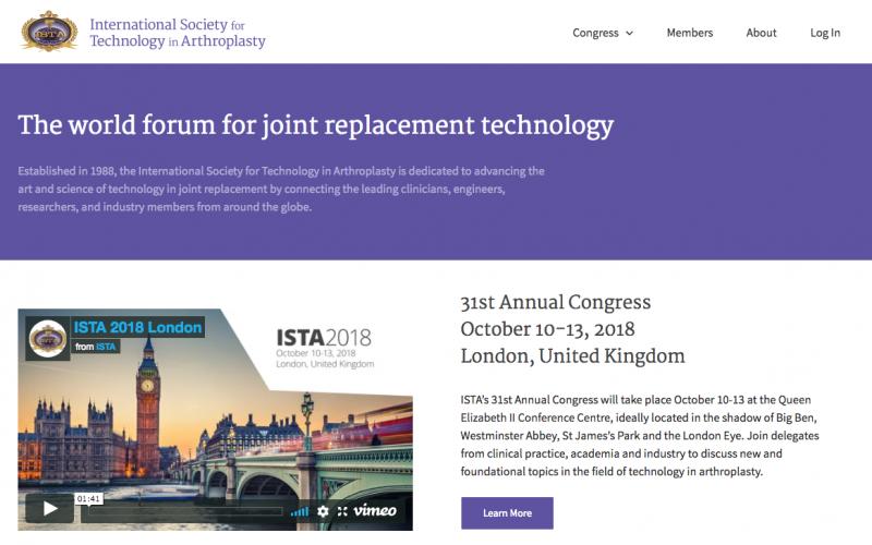 10-13 October 2018, ISTA Annual Congress; London