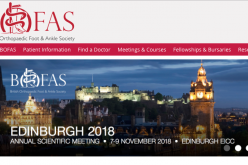 7-9 November 2018, British orthopaedic foot and ankle society annual meeting; Edinburgh