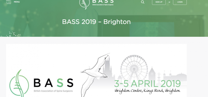 3-5 April 2019, BASS 2019; Brighton