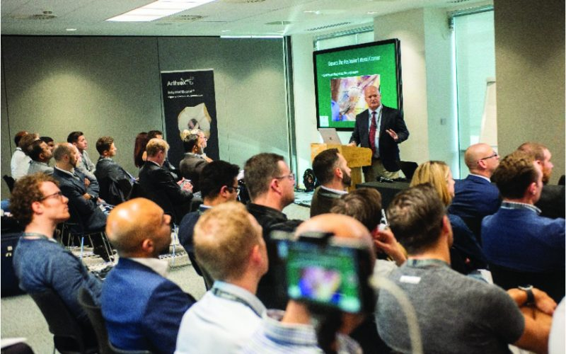 ArthrexLive educational events 'InSpire' delegates in Manchester