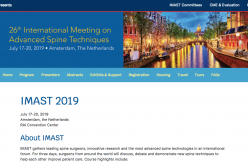 17-20 July 2019, 26th International Meeting on Advanced Spine Techniques Conference; Holland