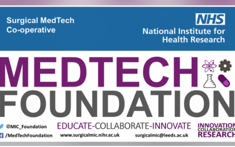 24 January 2019, NIHR MedTech Foundation National Meeting; Leeds
