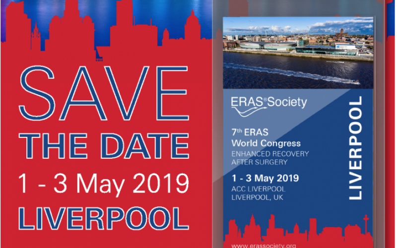 1-3 May 2019, 7th Enhanced Recovery after Surgery World Congress 2019; Liverpool