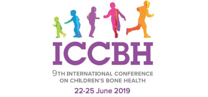 22-25 June 2019, 9th International Conference on Children's Bone Health (ICCBH); Salzburg