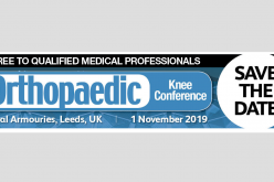 Confirmed speakers for the Orthopaedic Knee Conference 2019