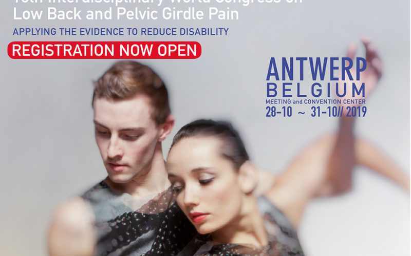 28-31 October 2019, 10th Interdisciplinary World Congress on Low Back Pain and Pelvic Girdle Pain; Antwerp