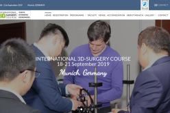 18-21 September 2019, Intercontinental 3D Surgery Course 2019; Munich
