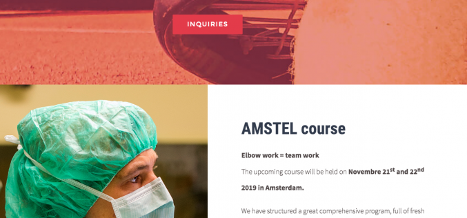 21-22 November 2019, AMSTEL Elbow Course; the Netherlands