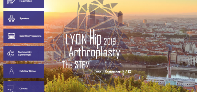 12-13 September 2019, Lyon Hip Arthroplasty 2019; France