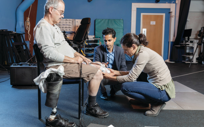Tailor-made prosthetic liners could help more amputees walk again