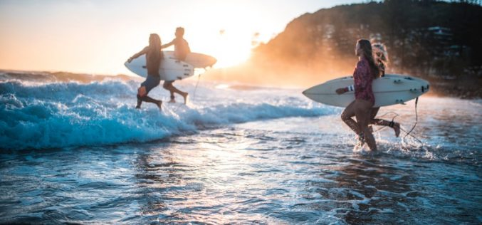 Most surfing injuries involve shoulder or knee, surgery usually not required