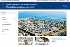 3-5 April 2020, Eastern Mediterranean International Medical Students' Congress; Famagusta, Cyprus
