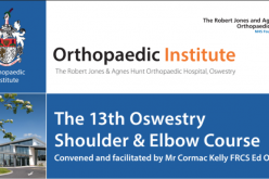 8-9 July 2020, Shoulder & Elbow Course; Oswestry