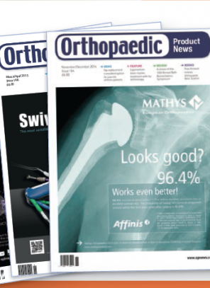 Message from the editor about Orthopaedic Product News magazine