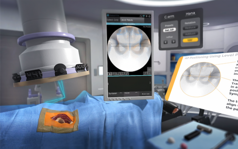 OrthoGrid Systems and Osso VR partner to scale access to fluoroscopic guidance technology