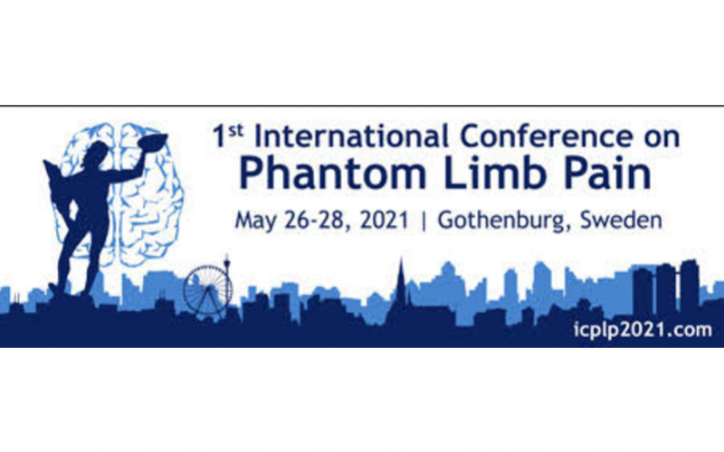 26-28 May 2021, 1st International Conference on Phantom Limb Pain; Gothenburg