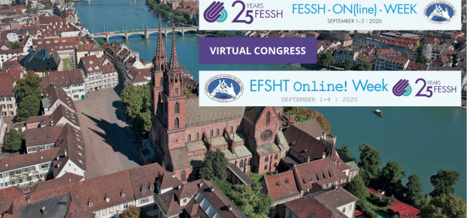 1-4 September 2020, EFSHT Virtual Congress 2020; Online